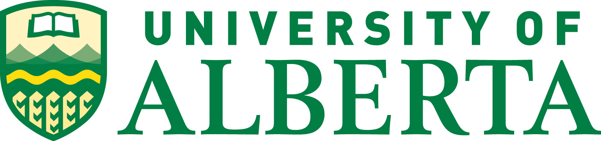 Logo for the University of Alberta