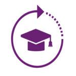 ICON - Grad hat symbolizing education